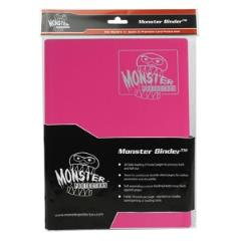 Monster Binder - 9 Pocket Pages, Matte Pink