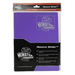 Monster Binder - 9 Pocket Pages, Matte Purple
