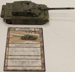 British Army Challenger II MBT #1