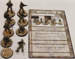 British Army Infantry Section #2