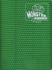 Monster Binder - 9 Pocket Pages, Holofoil Green