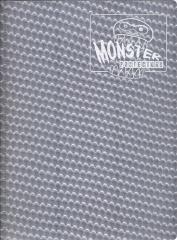 Monster Binder - 9 Pocket Pages, Holofoil Silver