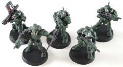 M-1A4 Power Suit Squad Collection #1