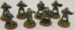 M-1A4 Power Suit Squad Collection #2