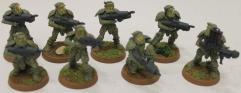 M-1A4 Power Suit Squad Collection #3