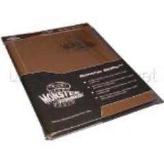 Monster Binder - 9 Pocket Pages, Matte Gold