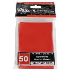 Standard CCG Size - Super Matte Red (50)