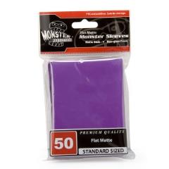 Standard CCG Size - Purple (10 Packs of 50)