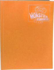 Monster Binder - 9 Pocket Pages, Matte Sunflower Orange
