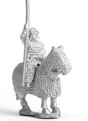 Later Saka Lancer w/Fully Armored Horses