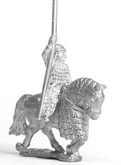 Later Saka Lancer w/Half Armored Horses