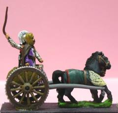 General & Driver in 2 Horse Light Chariot