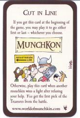 Munchkin - Cut in Line