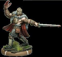 Penda the Bloody-Handed - Warrior King of Mierce on Foot (Metal)
