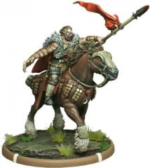 Penda the Bloody-Handed - Warrior King of Mierce on Horse