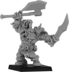 Brazhag - Orc Warlord w/Two Axes