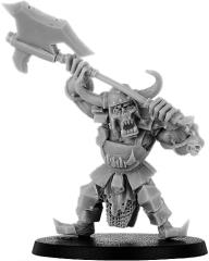 Buggrom of Ulmo - Orc Warlord w/Great Weapon on Foot