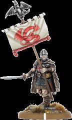 Hywel Hir - Bannerman of Gwynedd (Resin)