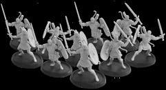 Warriors of Dyngonwy - Rhyfelwr Unit (Metal)