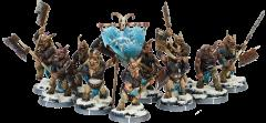 Baagath's Herd - Gabrax Unit w/Command (Metal)
