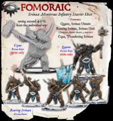 Sronax - Monstrous Infantry Starter Host