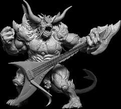 Belech - Axeman of Omens