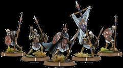Dead of Black Barrow, The - Wihtgar Unit (5 Warriors w/Command)