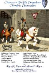 Character Profile Organizer #2 - Chivalric Characters