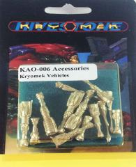 Accessories Pack #6 - Kryomek Vehicles