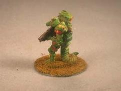 Python Lizard w/Armor