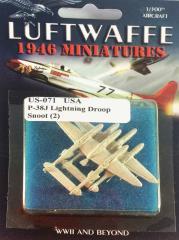 P-38J Lightning Droop