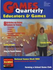 "2005 Special Edition ""Educators & Games"""