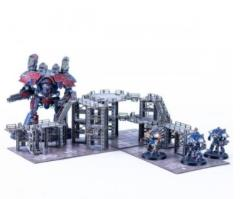 Micro Scale Industrial Platforms (Pre-Painted)
