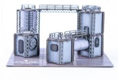 Micro Scale Industrial Silos
