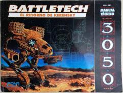 Manual Tecnico 3050 - El Retorno de Kerensky (Technical Readout 3050 - The Return of Kerensky,1st Edition)