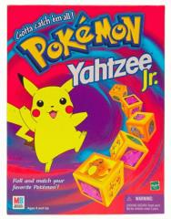Yahtzee Jr. -  Pokemon Edition