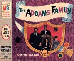 Addams Family Card Game, The