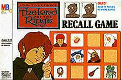 Recall Game - Lord of the Rings