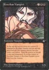 Krovikan Vampire (U)