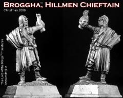 Broggha - Hillmen Chieftain (2009 Christmas Figure)