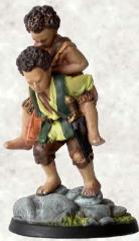 Frodo & Sam at Mt. Doom