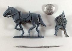 Mounted Rohir w/Lance #1