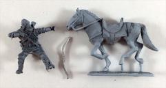 Mounted Rohir Archer #1