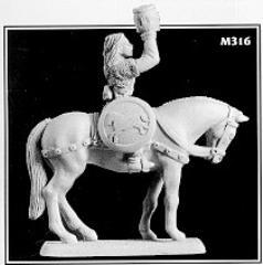Eowyn Dernhelm - Mounted