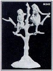 Elf Children in Tree