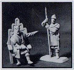 King Ageleb & Guard