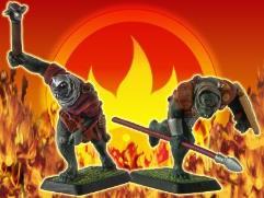 Armored Orcs w/Spear & Morningstar