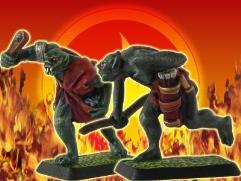 Orc Light Infantry - Slinger & Archer