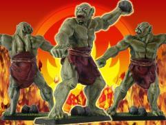 Dol Guldur Troll Throwing Rocks