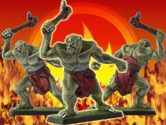 Dol Guldur Troll w/Stone Axe